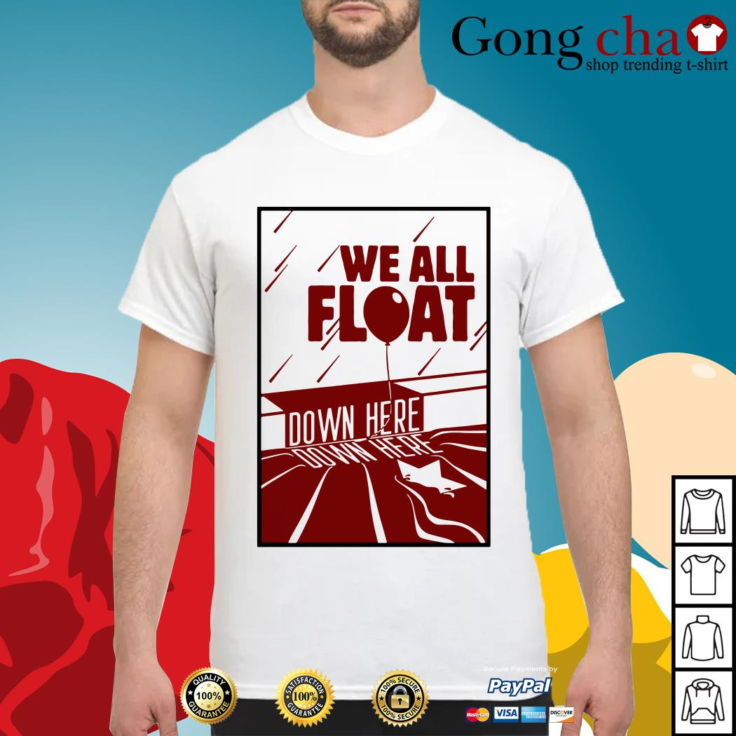 IT we all float down here shirt