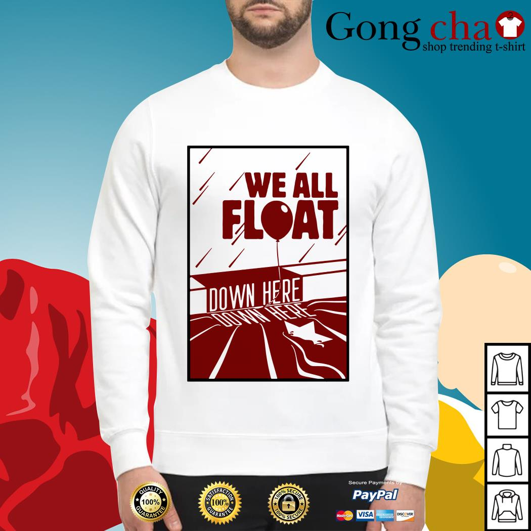 IT we all float down here Sweater