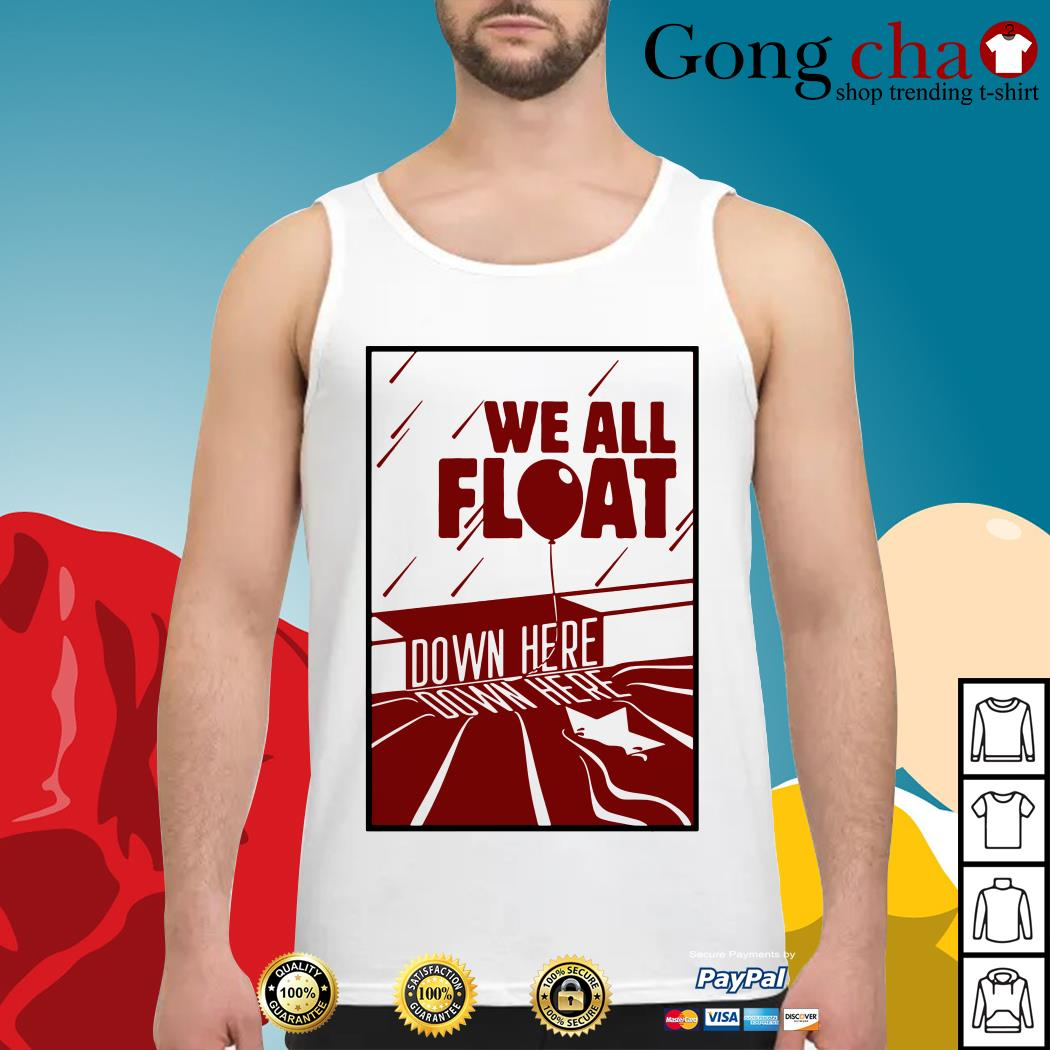 IT we all float down here Tank top