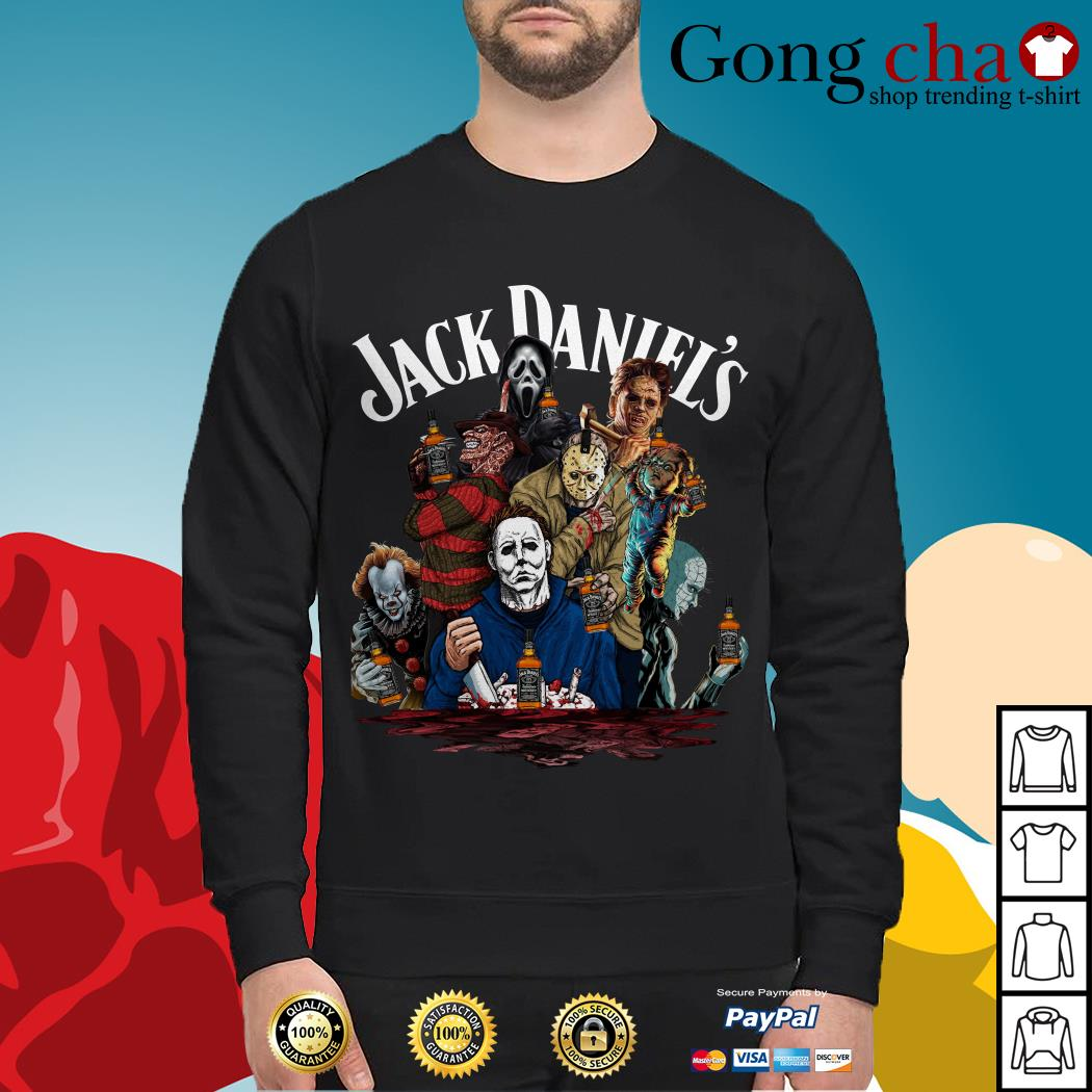 Jack Daniel's horror characters movies Sweater