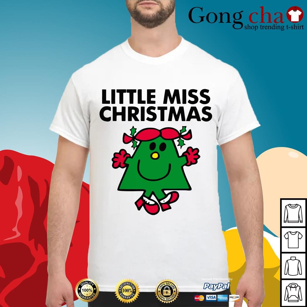 Little miss Christmas shirt