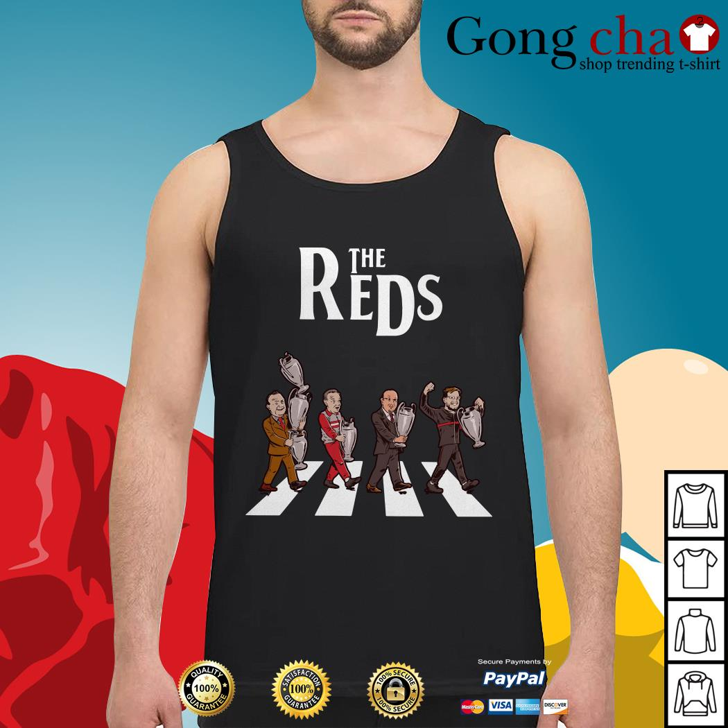 Liverpool The Reds Abbey Road Tank top