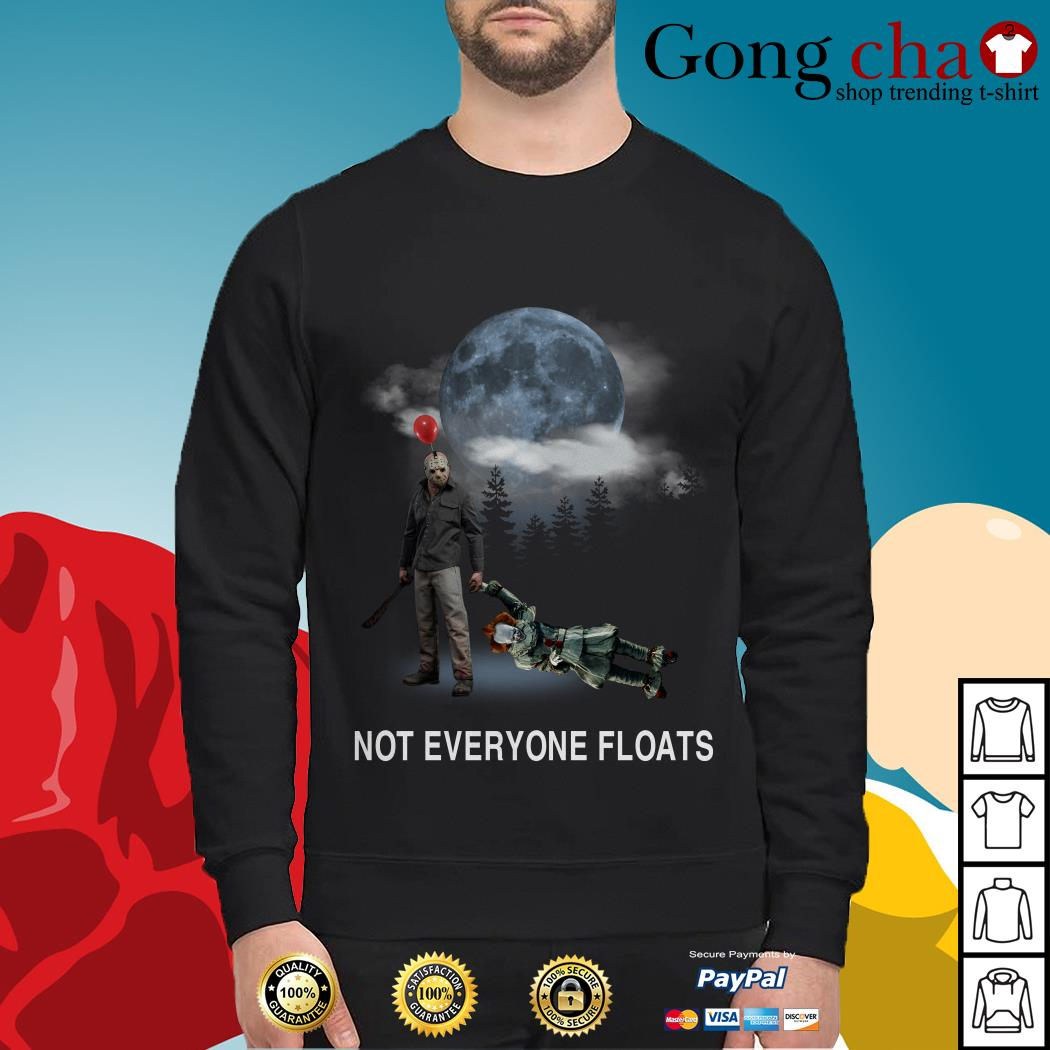 Michael Myers and Pennywise not everyone floats Sweater