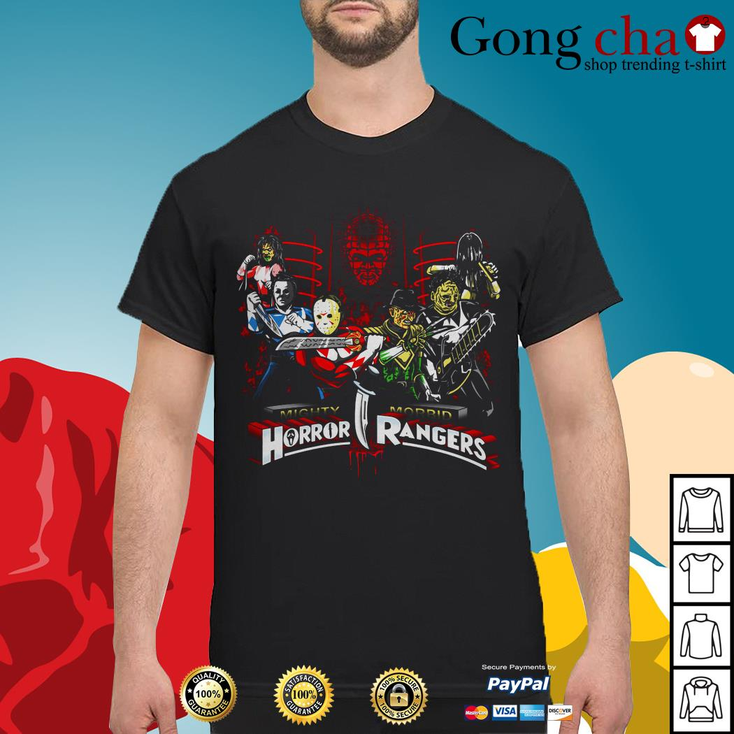 Mighty morbid Horror Rangers shirt