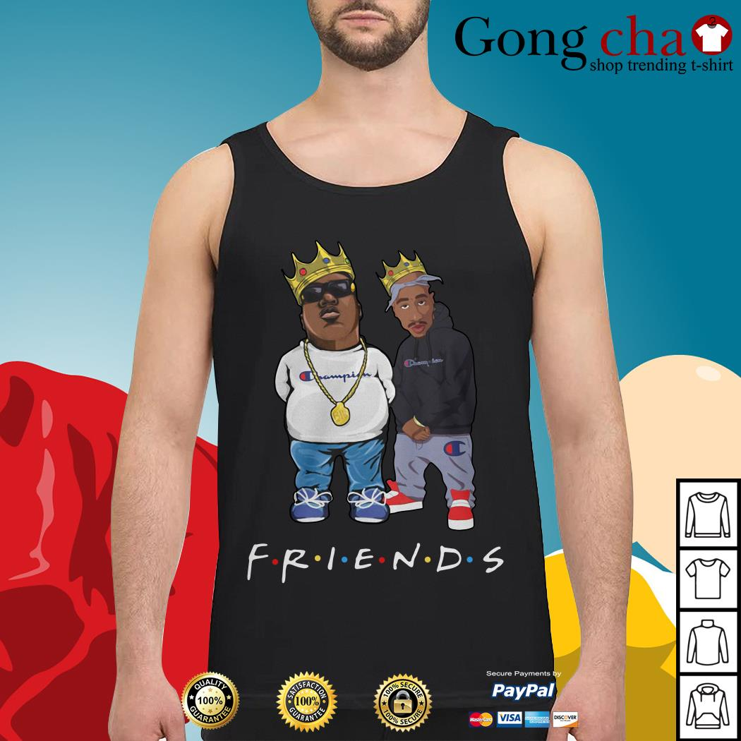 The Notorious B.I.G. and Tupac friends Tank top