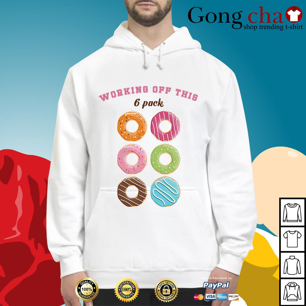 Official Donut working off this 6 pack Hoodie