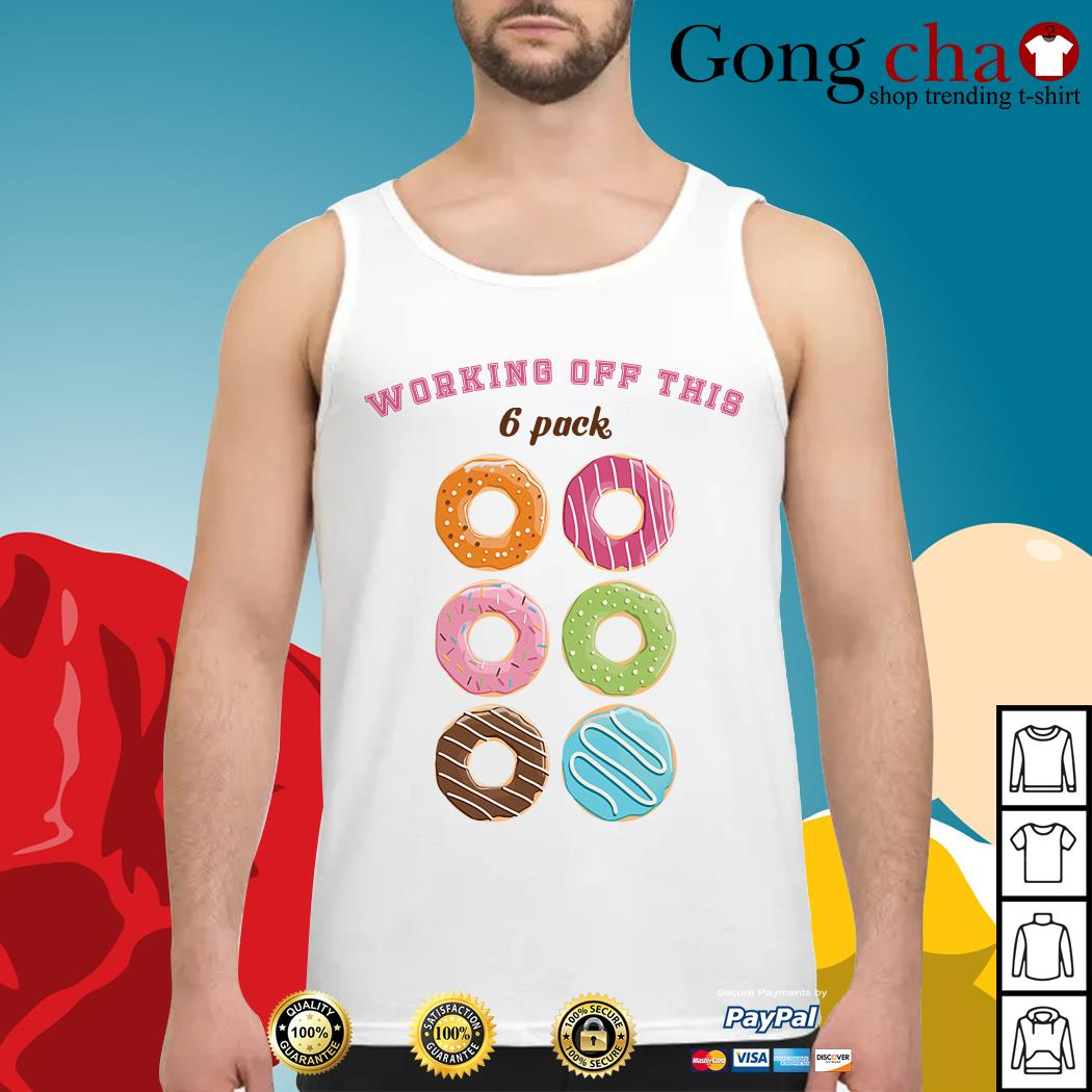 Official Donut working off this 6 pack Tank top