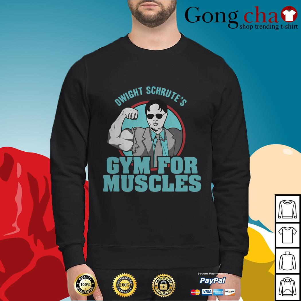 Official Dwight Schrute's gym for muscles Swearer
