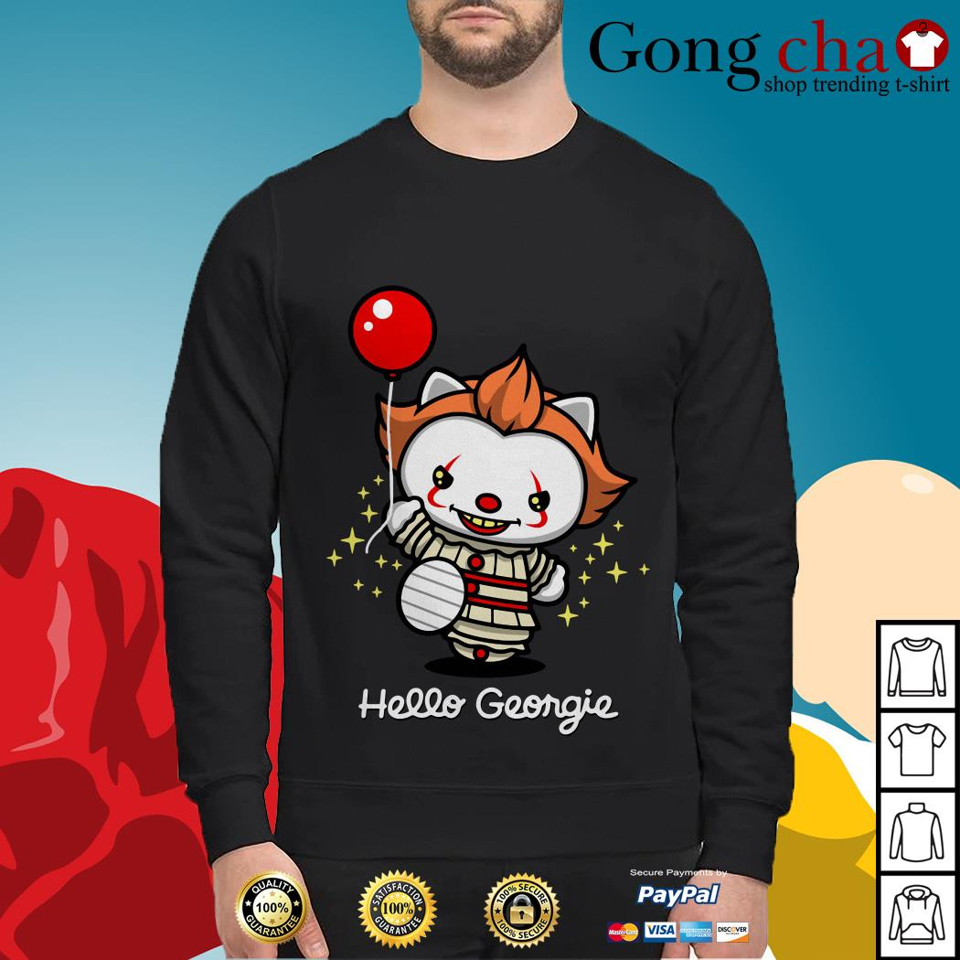 Pennywise cat hello Georgie Sweater