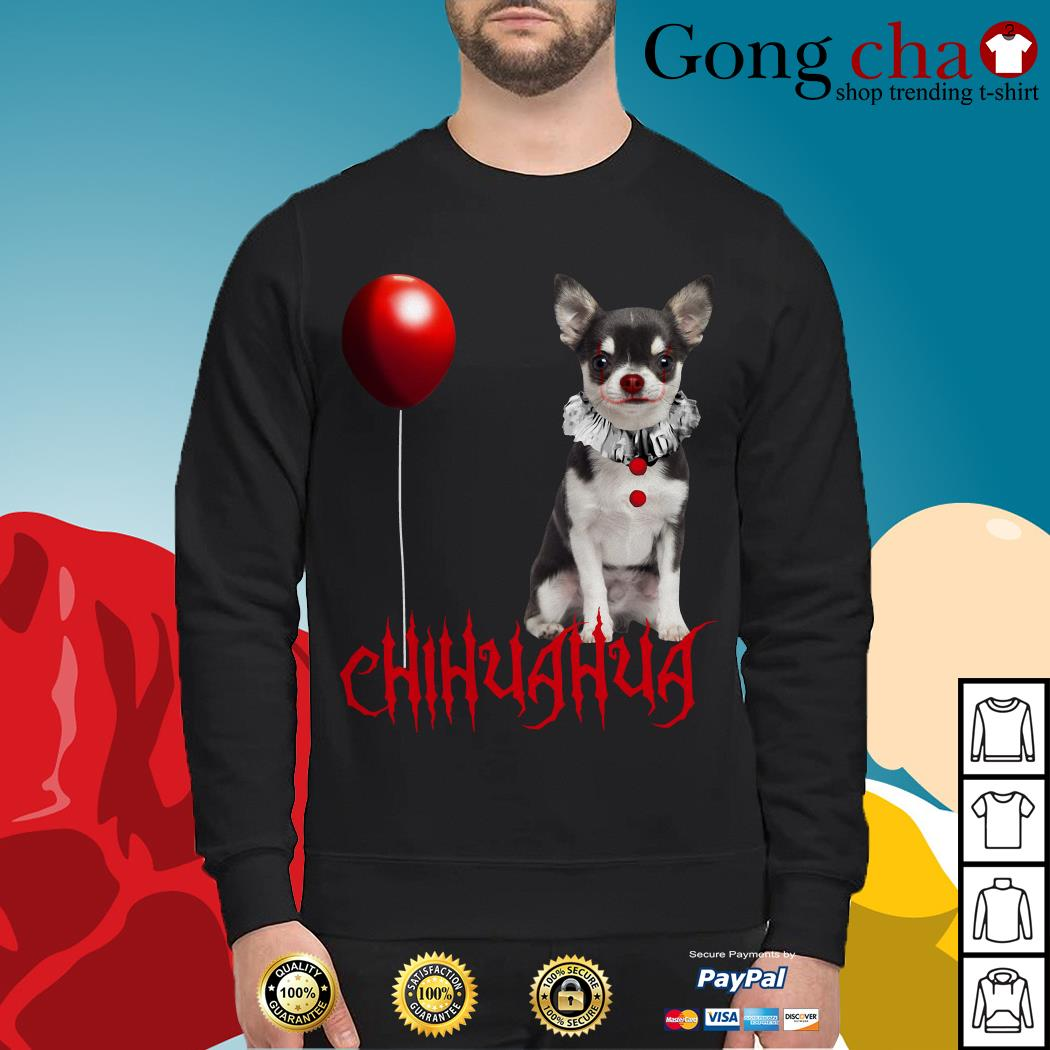 IT Pennywise Chihuahua Sweater