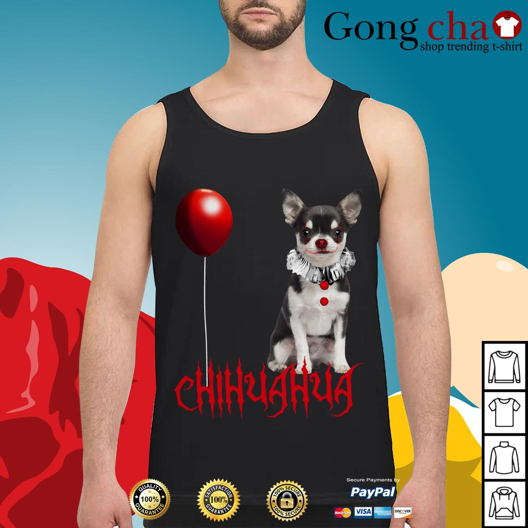 IT Pennywise Chihuahua Tank top