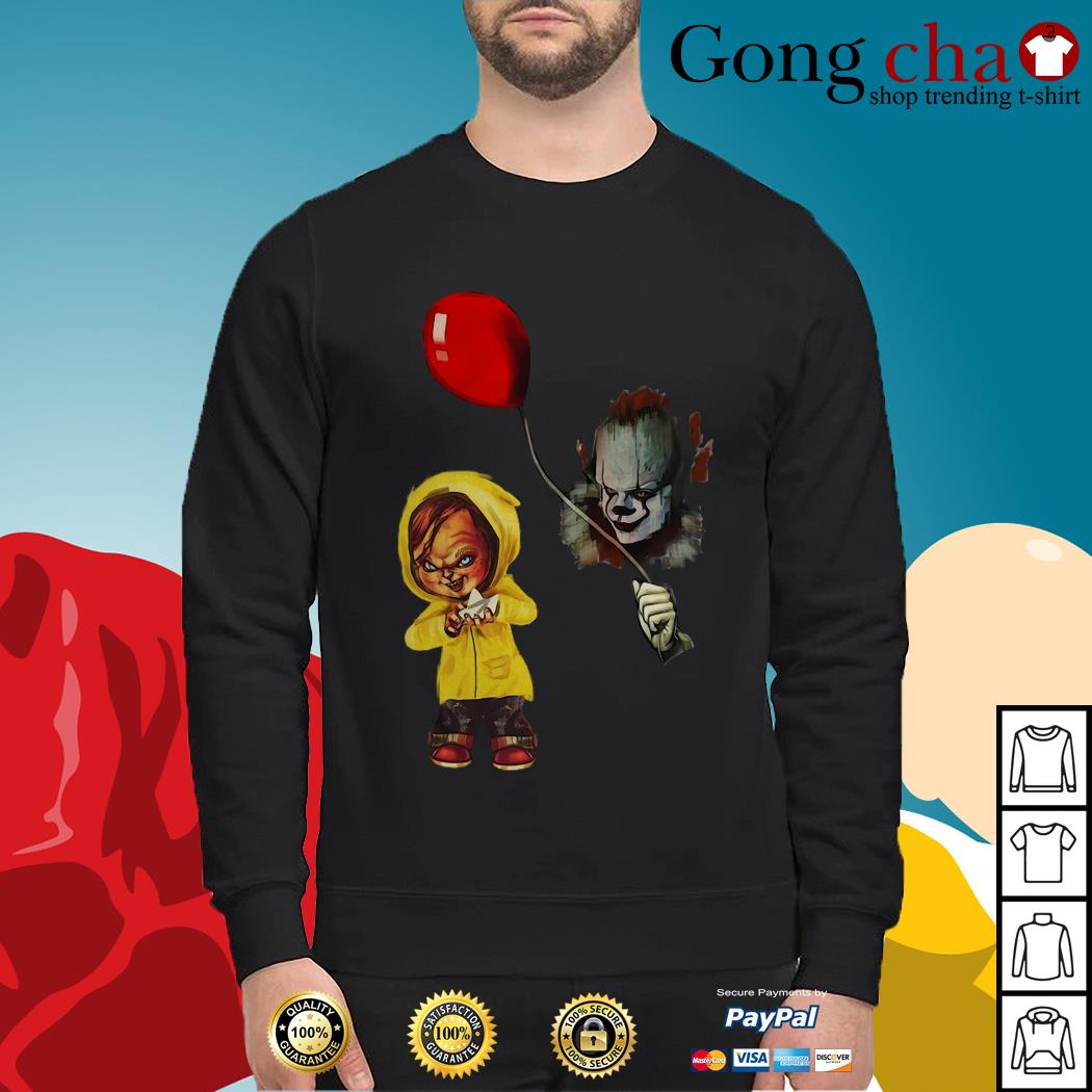 IT Pennywise Georgie Chucky Stephen King Sweater
