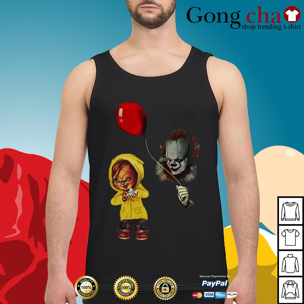 IT Pennywise Georgie Chucky Stephen King Tank top