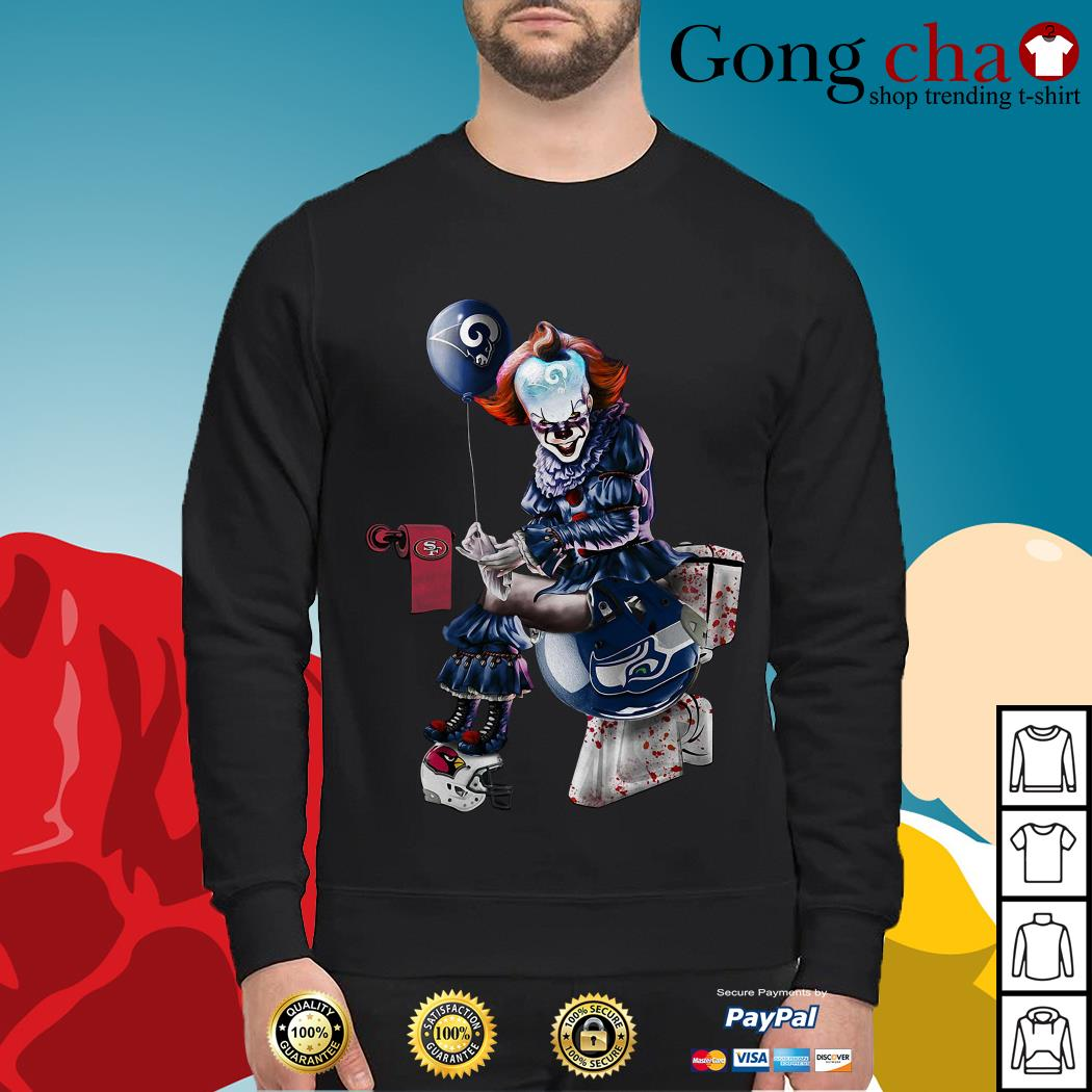Pennywise Los Angeles Rams San Francisco 49ers Seattle Seahawks Arizona Cardinals Sweater