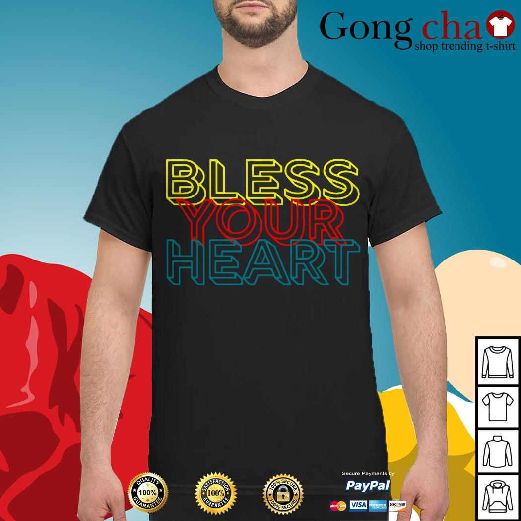 Retro Bless your heart shirt