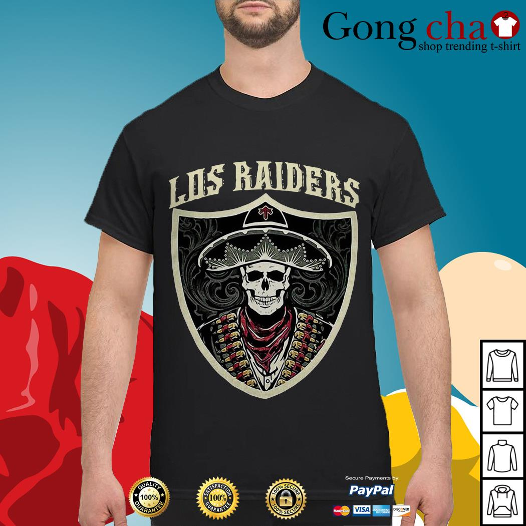 Skeleton Los Raiders shirt