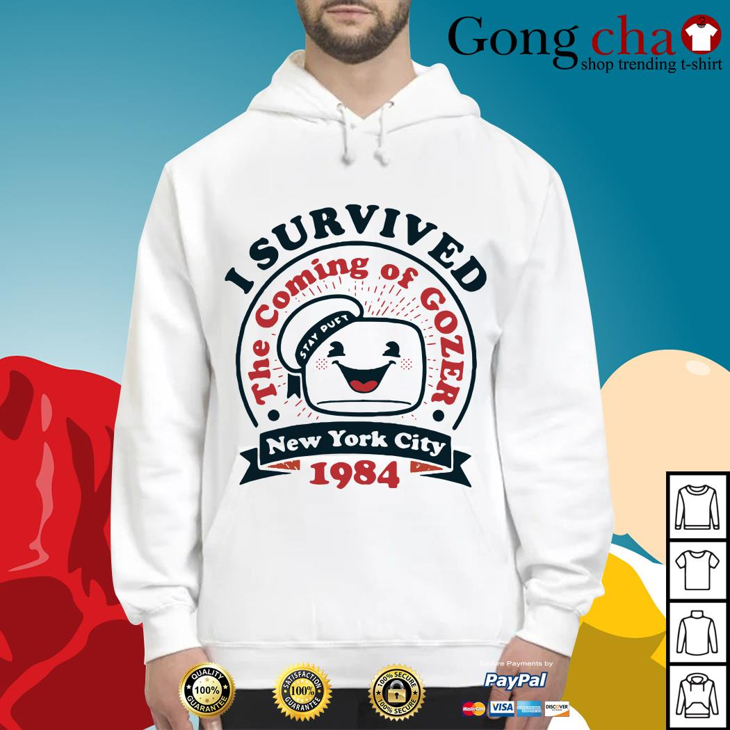 I survived the coming of Gozer New York city 1984 Hoodie