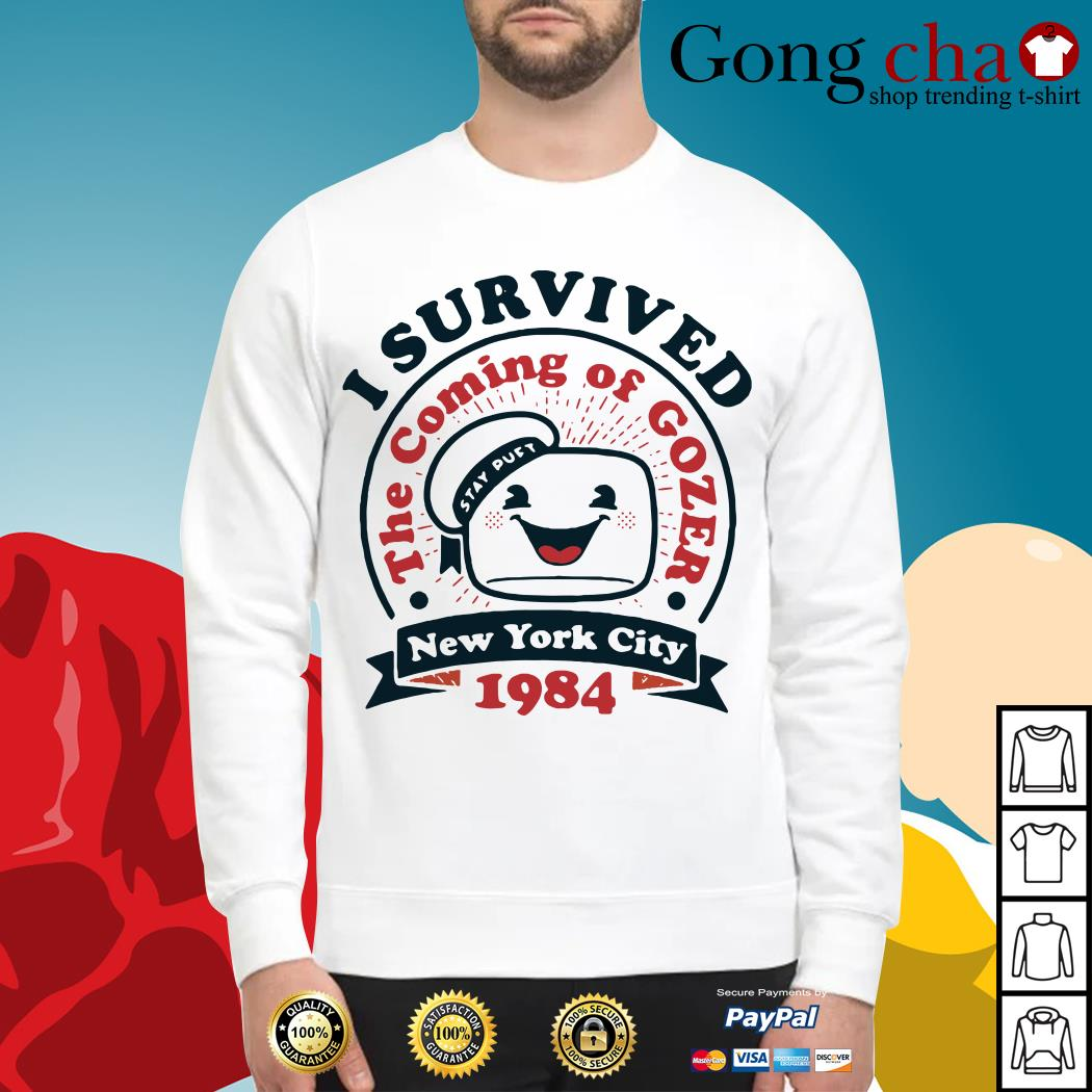 I survived the coming of Gozer New York city 1984 Sweater