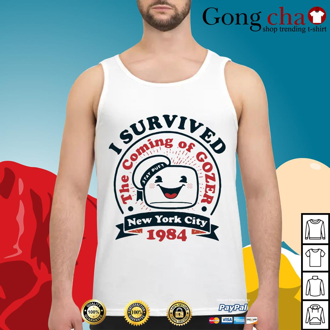 I survived the coming of Gozer New York city 1984 Tank top