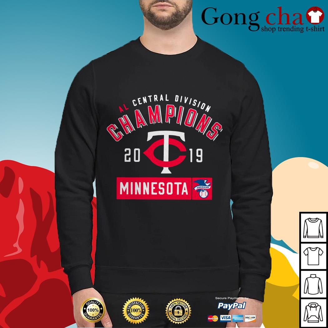 AL central division champions 2019 Minnesota Twins Sweater