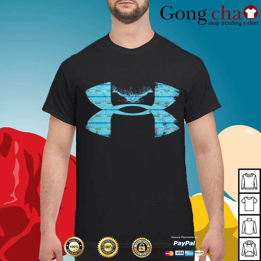 Under Armour I love swimming shirt