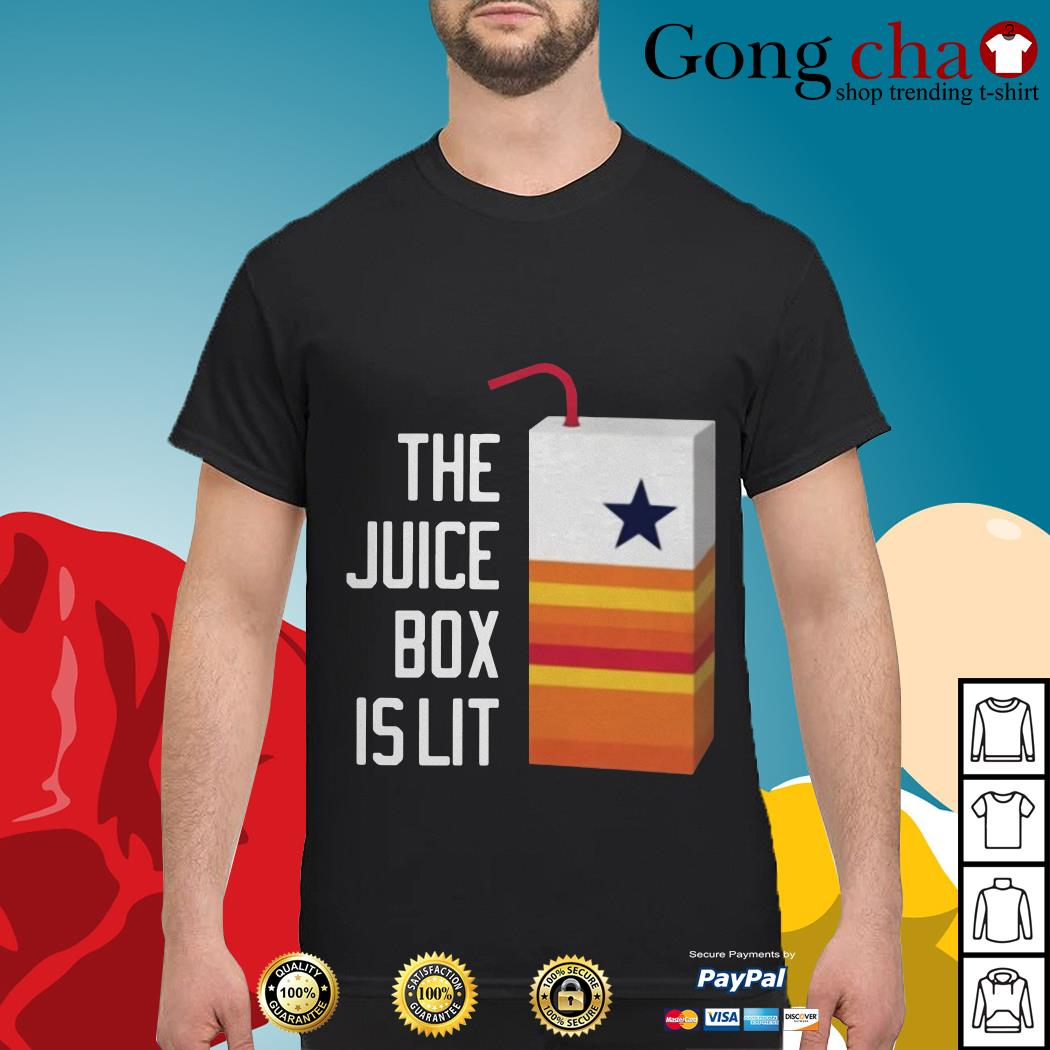 Dallas Cowboy the juice box is lit shirt