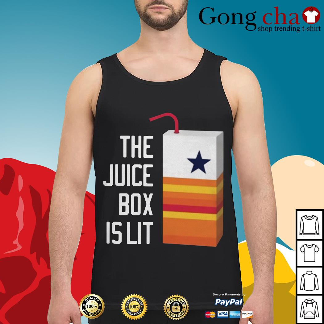 Dallas Cowboy the juice box is lit Tank top