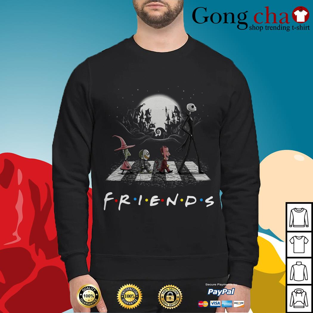 Friends The Nightmare Before Christmas Abbey Road Sweater
