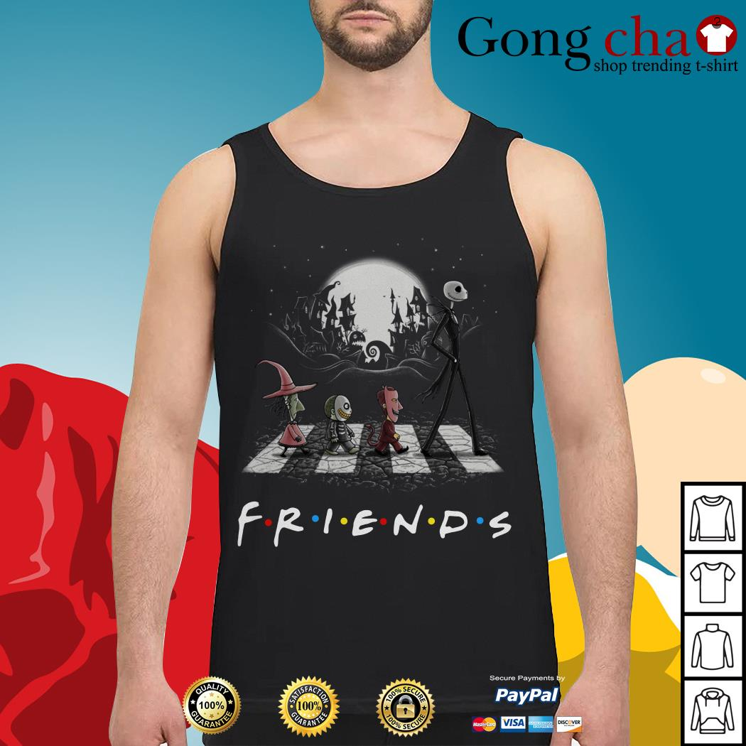 Friends The Nightmare Before Christmas Abbey Road Tank top