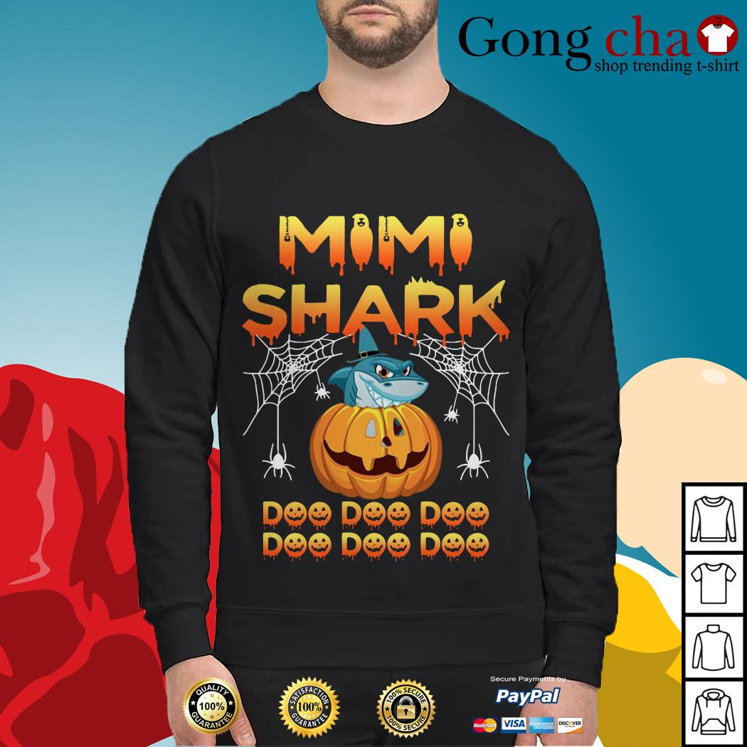 Halloween Mimi shark doo doo doo Sweater