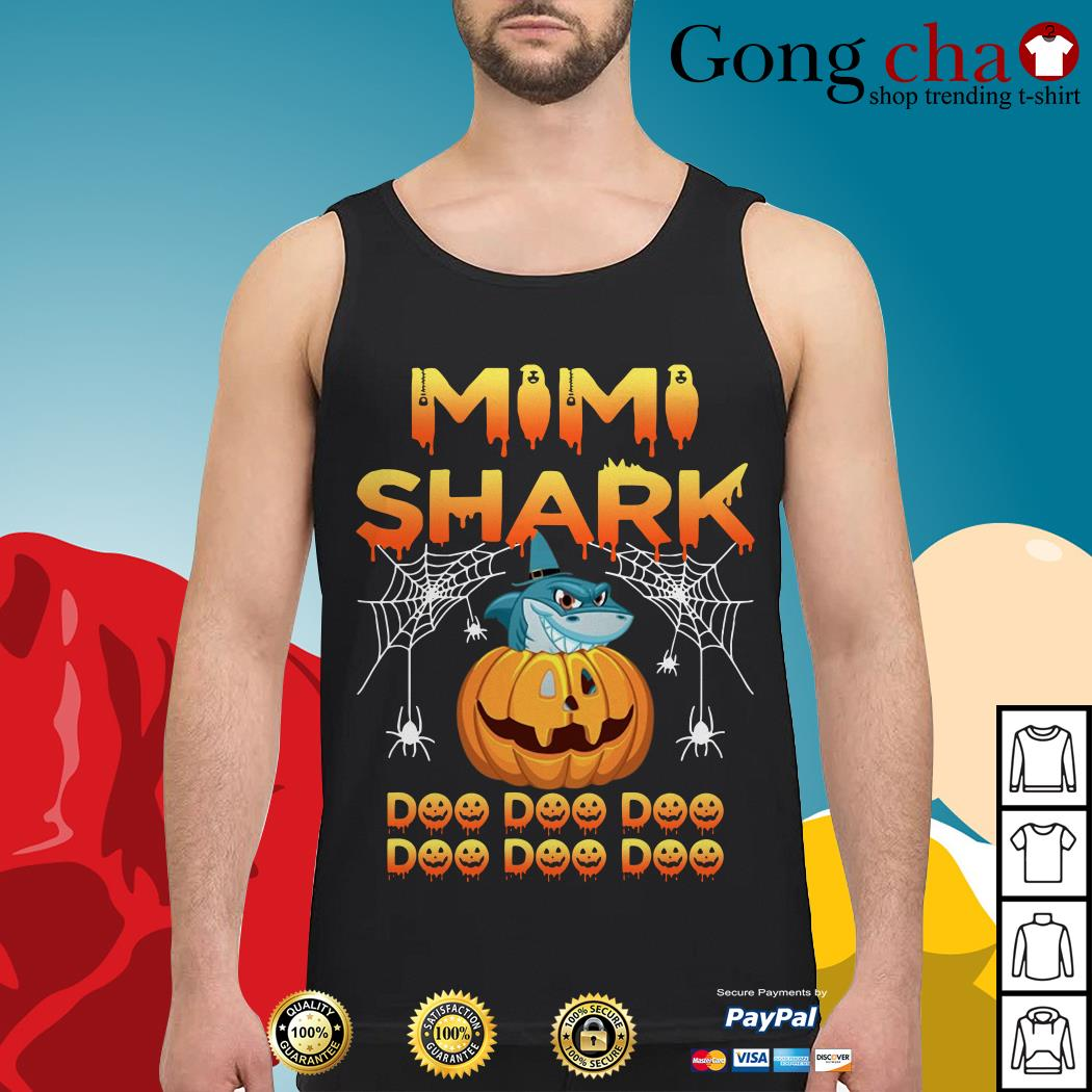 Halloween Mimi shark doo doo doo Tank top