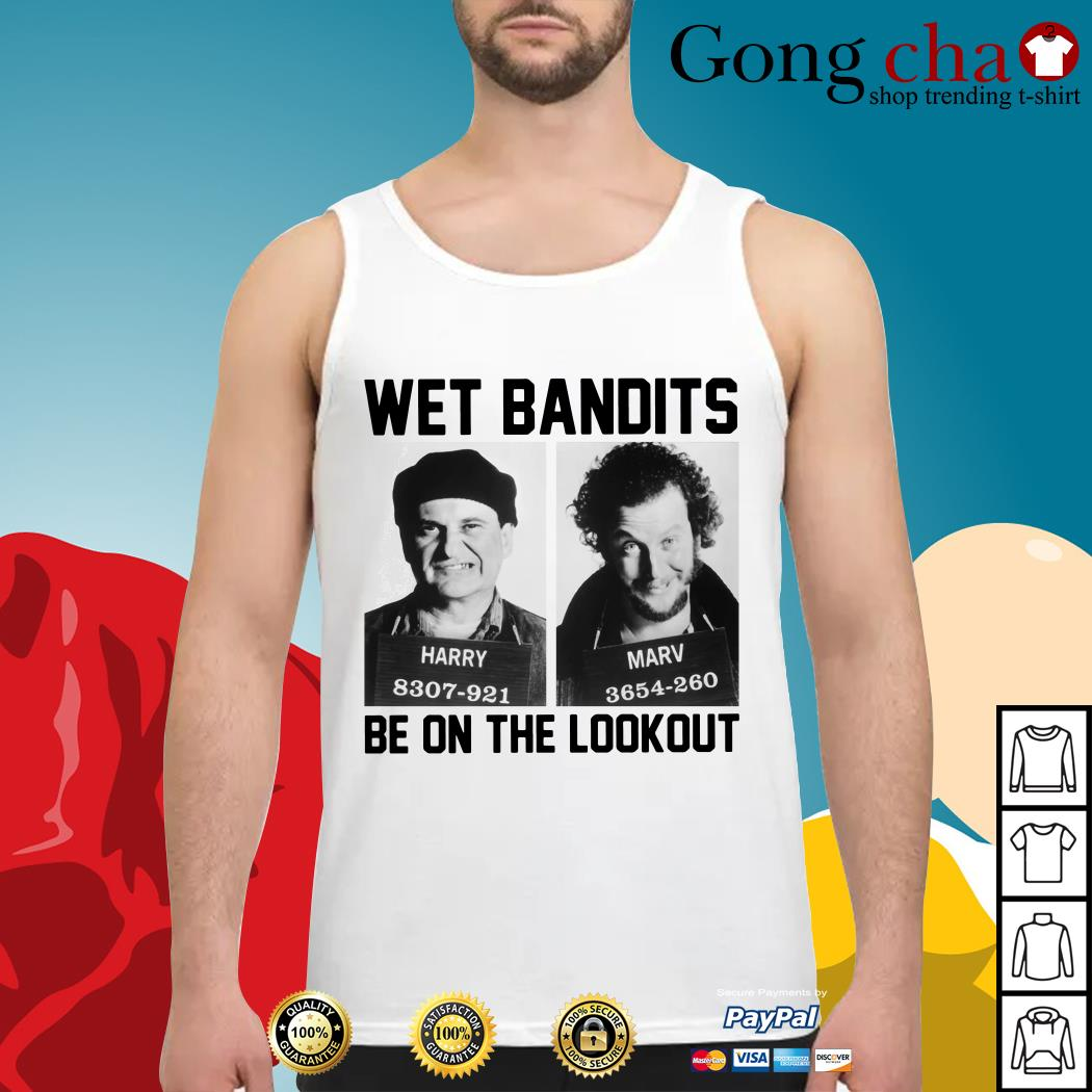Harry and Marv Wet Bandits be on the lookout Home Alone Tank top