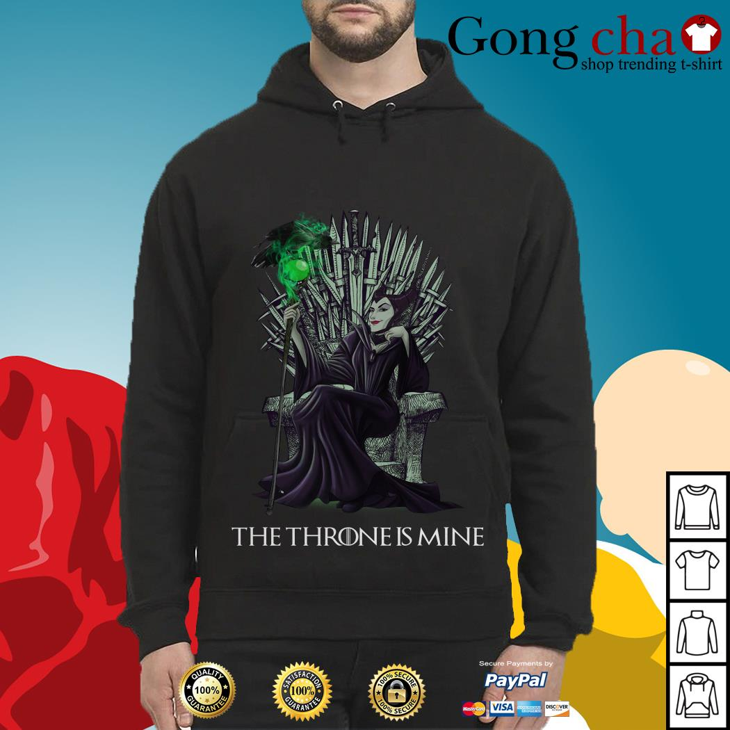 Maleficent the throne is mine Hoodie