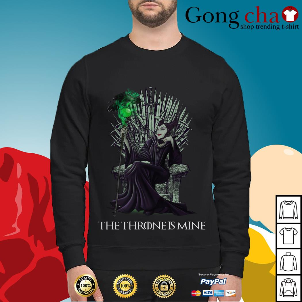 Maleficent the throne is mine Sweater
