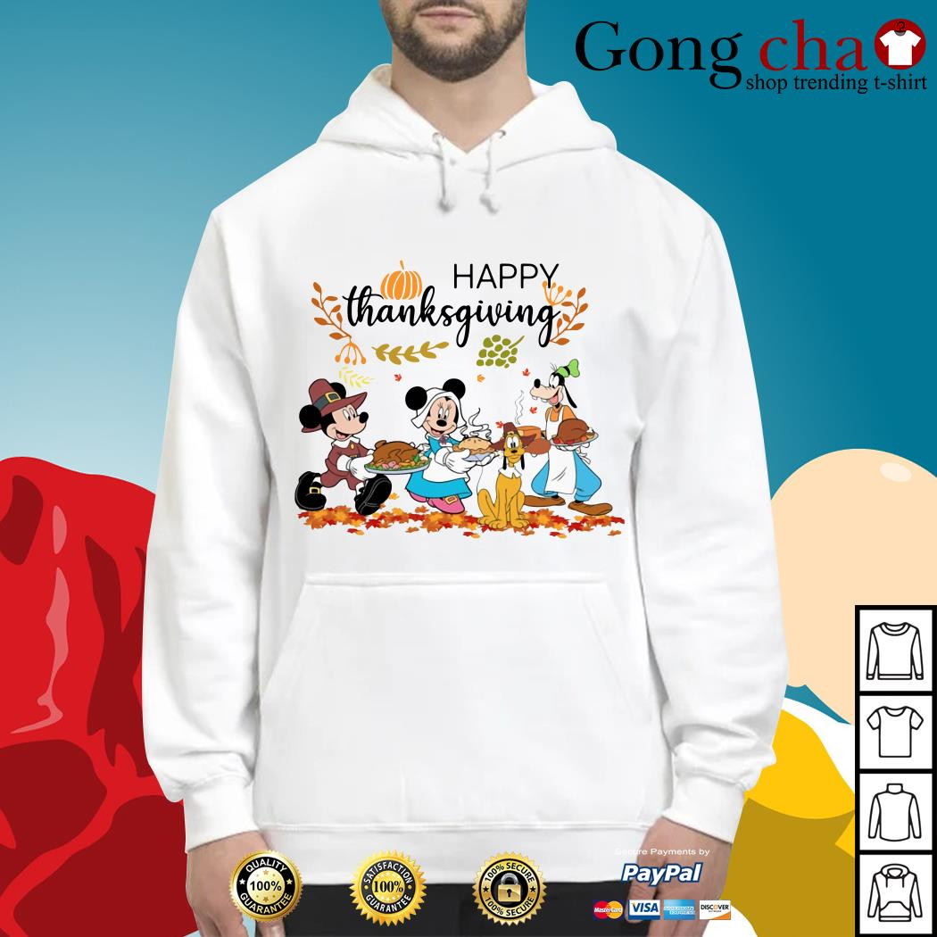 Official Disney happy thanksgiving Hoodie