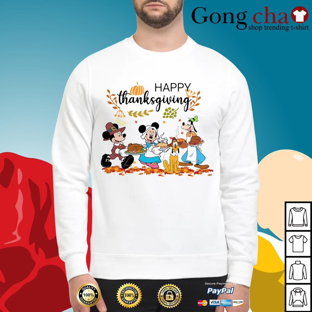 Official Disney happy thanksgiving Sweater