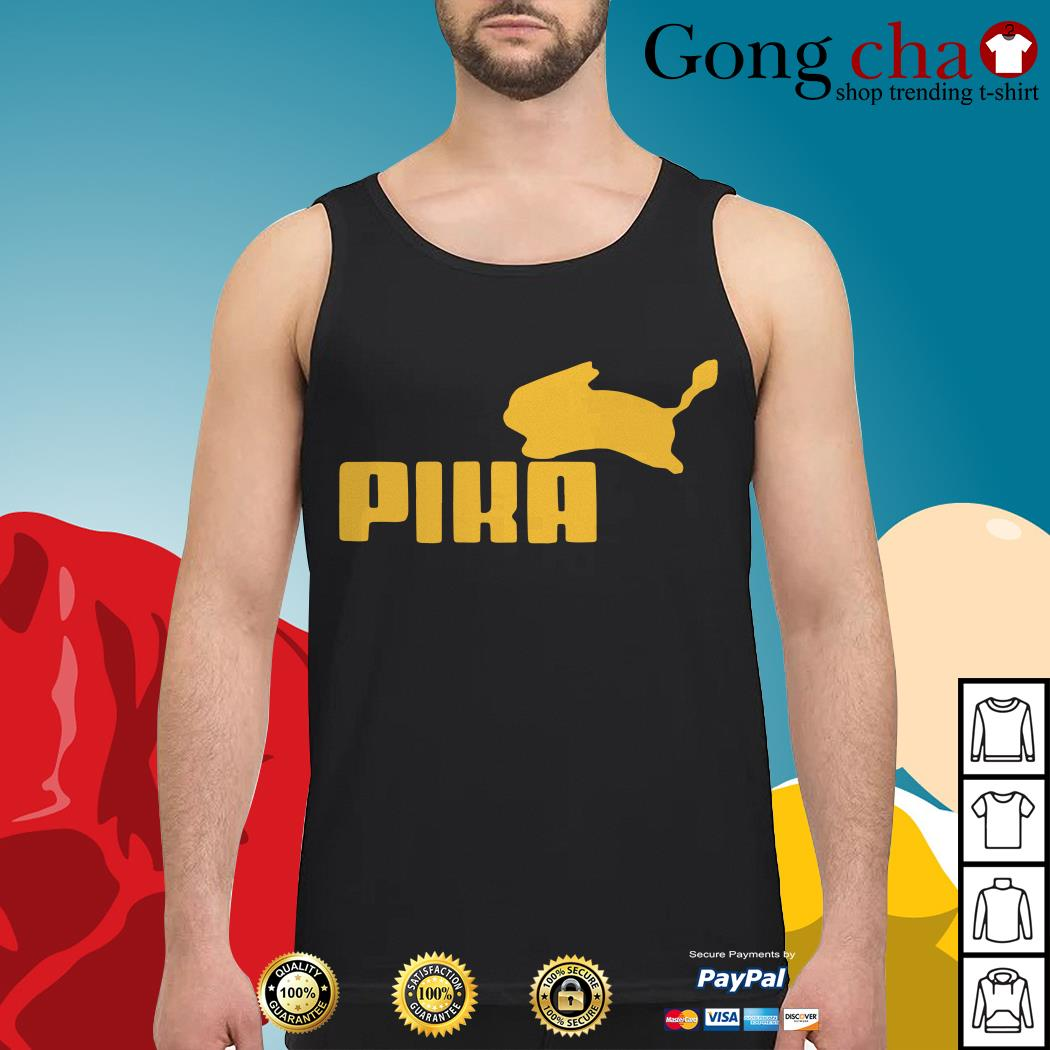Pokemon Pikachu Puma Tank top