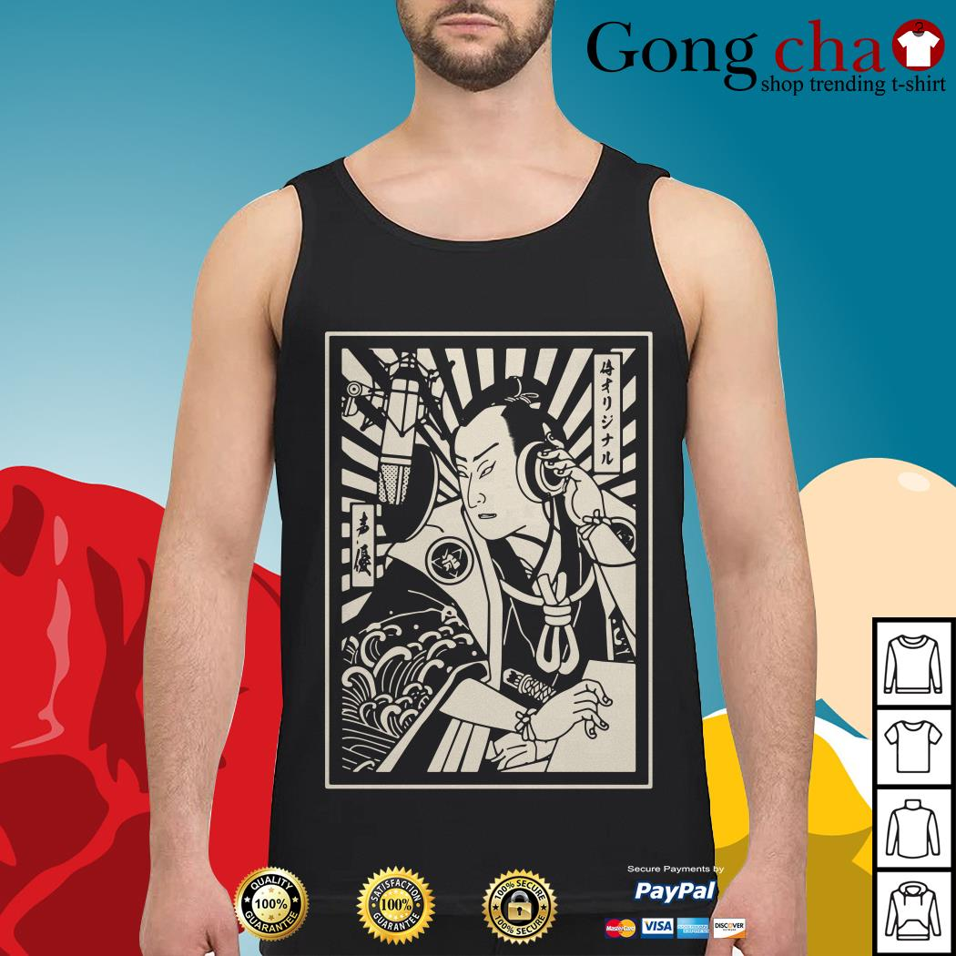 Samurai Voice Actor Tank top