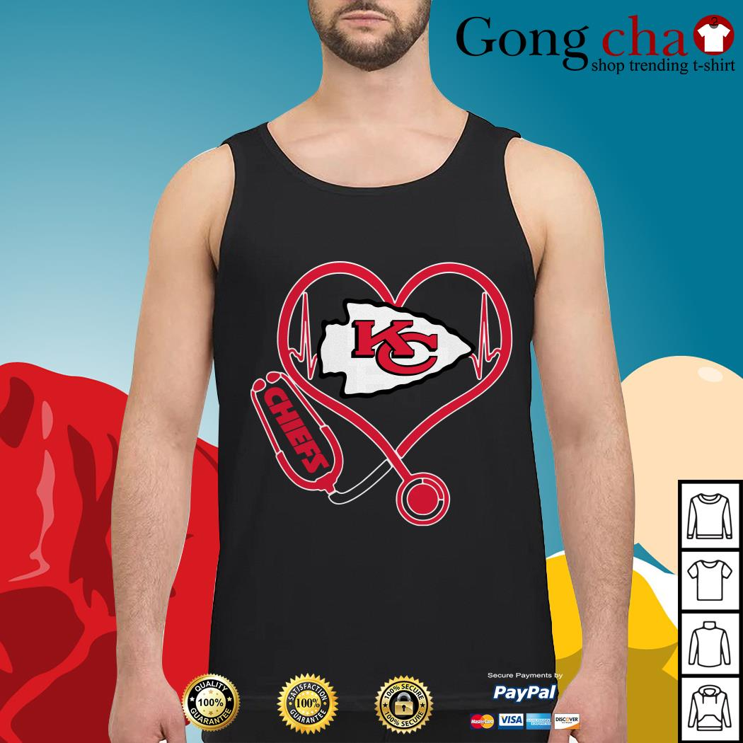 Stethoscope Kansas City Chiefs Tank top