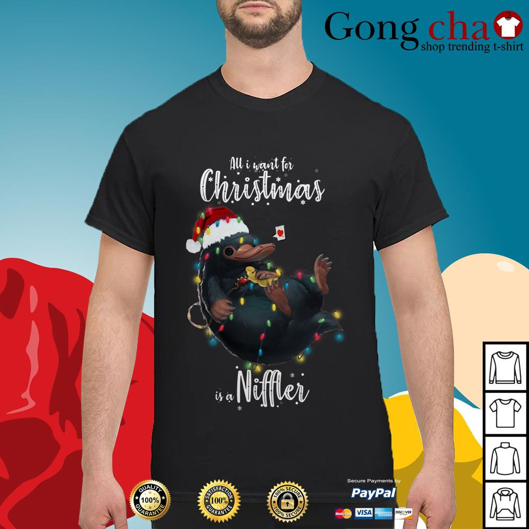 All I want for Christmas is a Niffler shirt, sweater