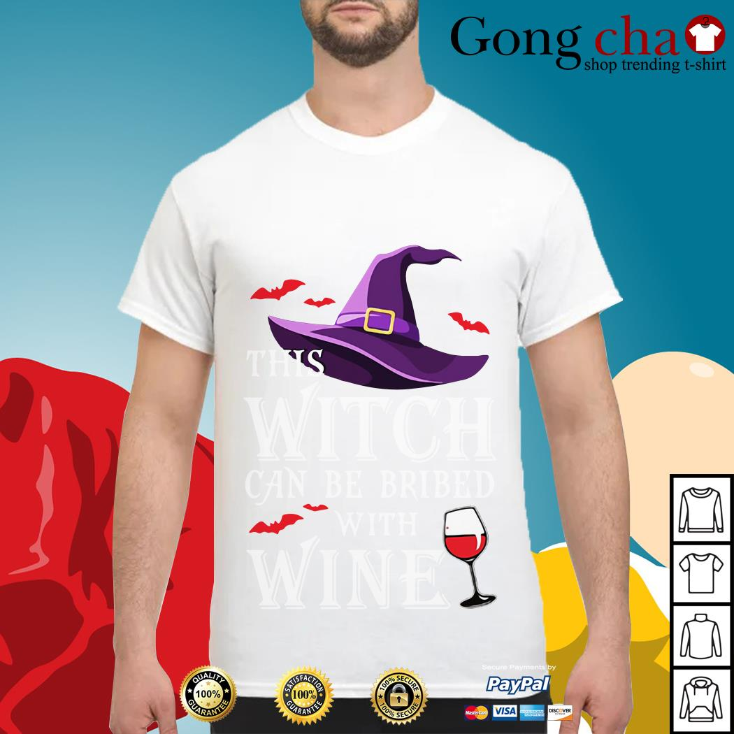 This witch can be bribed with wine shirt