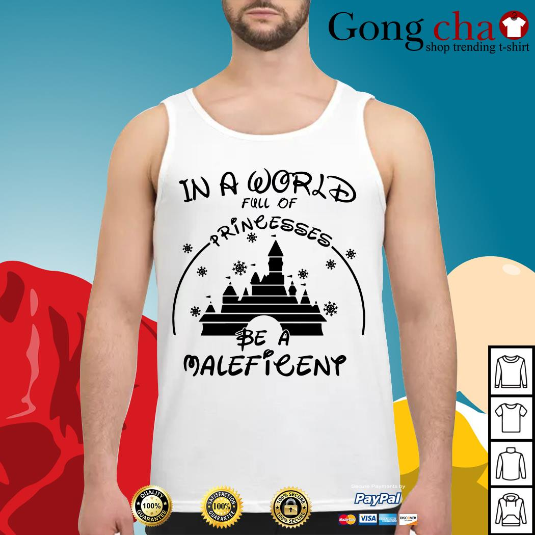 In a world full of princesses be a Maleficent Tank top