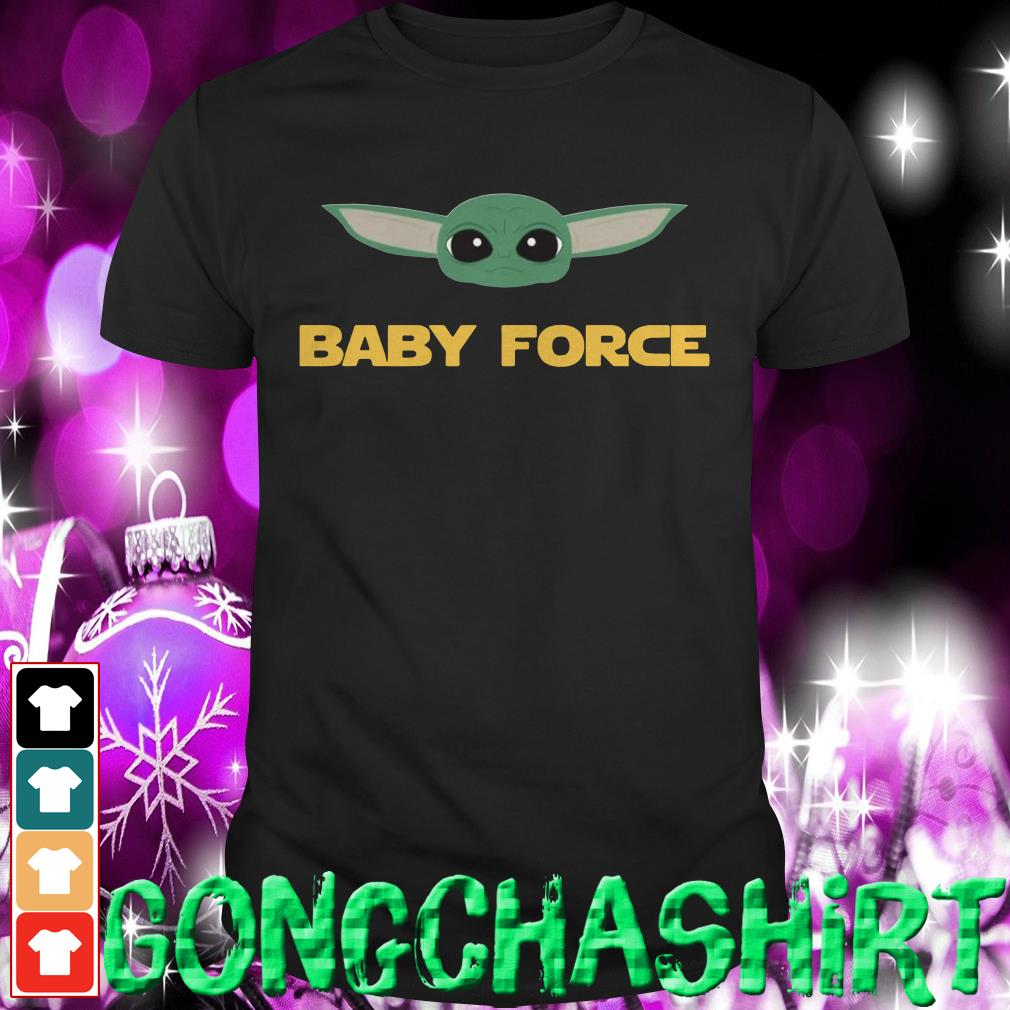 Baby Yoda baby force shirt