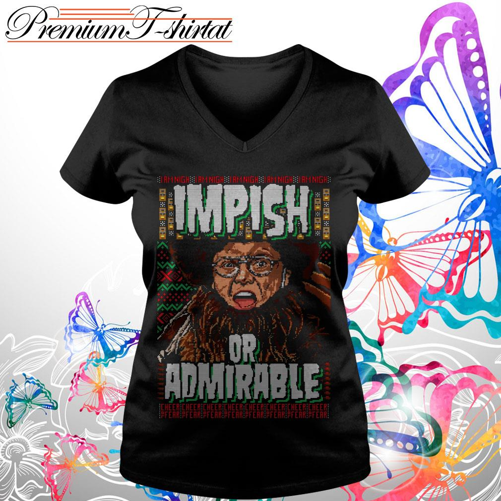 Belsnickel impish or admirable ugly Christmas T-shirt and hoodie