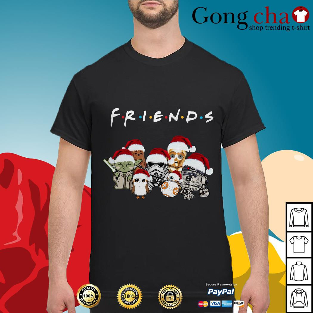 Friends Star Wars chibi characters Christmas shirt, sweater