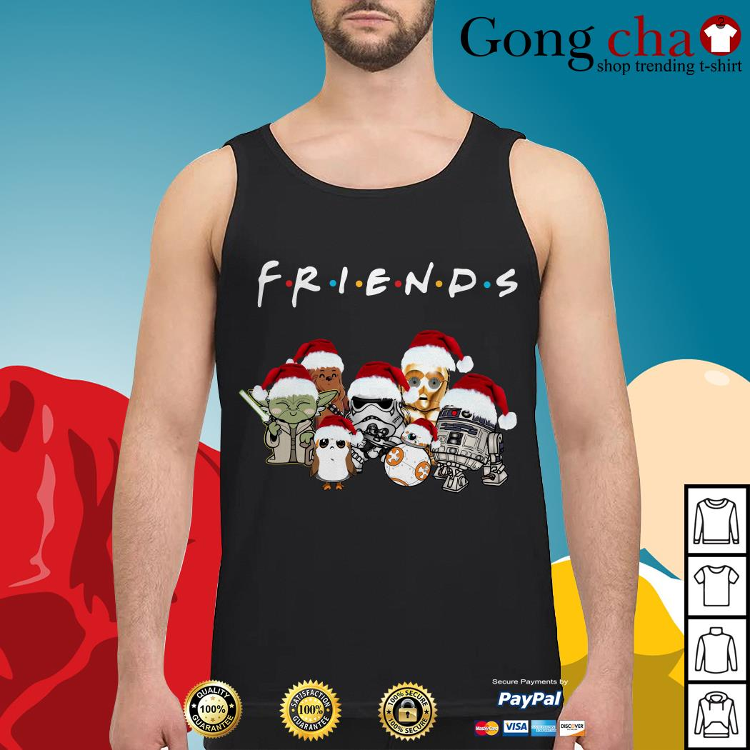Friends Star Wars chibi characters Christmas Tank top