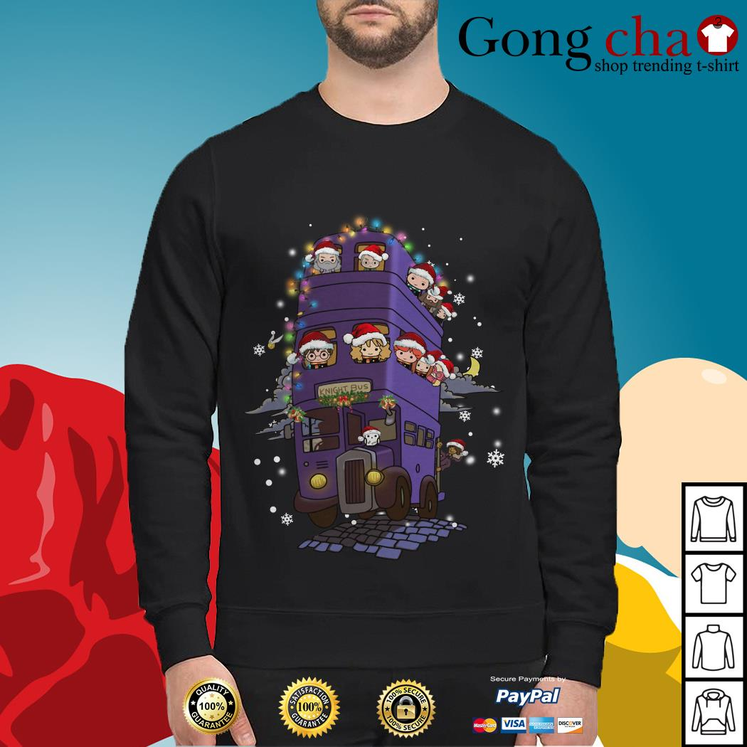 Harry Potter knight bus Christmas Sweater