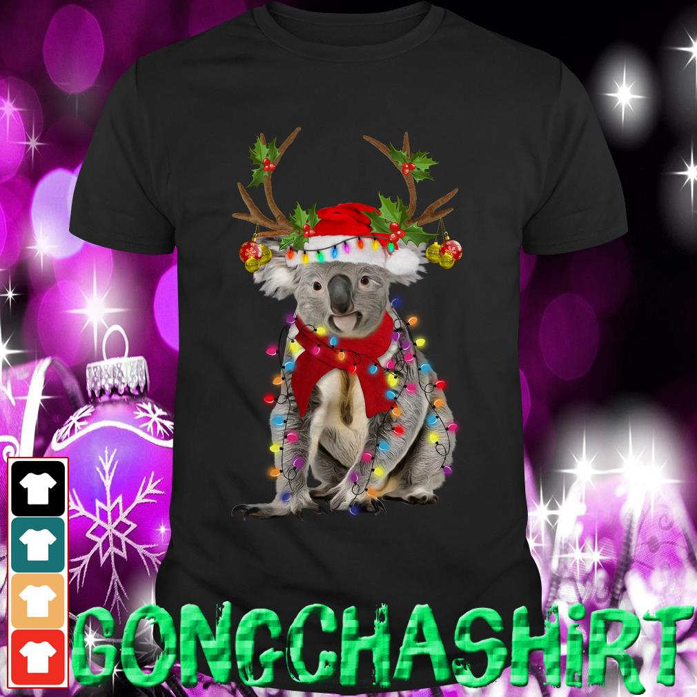 Koala gorgeous reindeer Christmas shirt, sweater