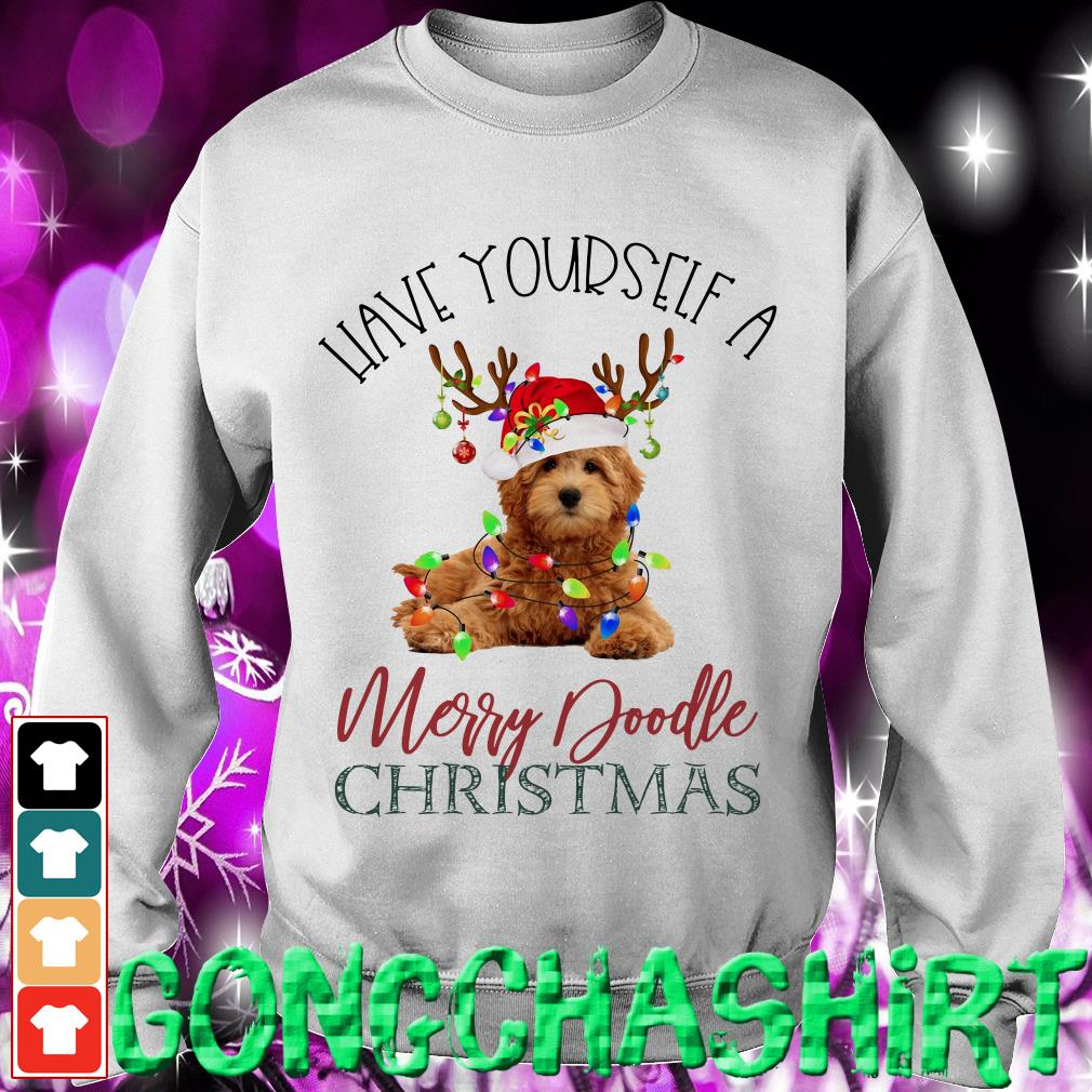 Have yourself a Merry Doodle Christmas Sweater
