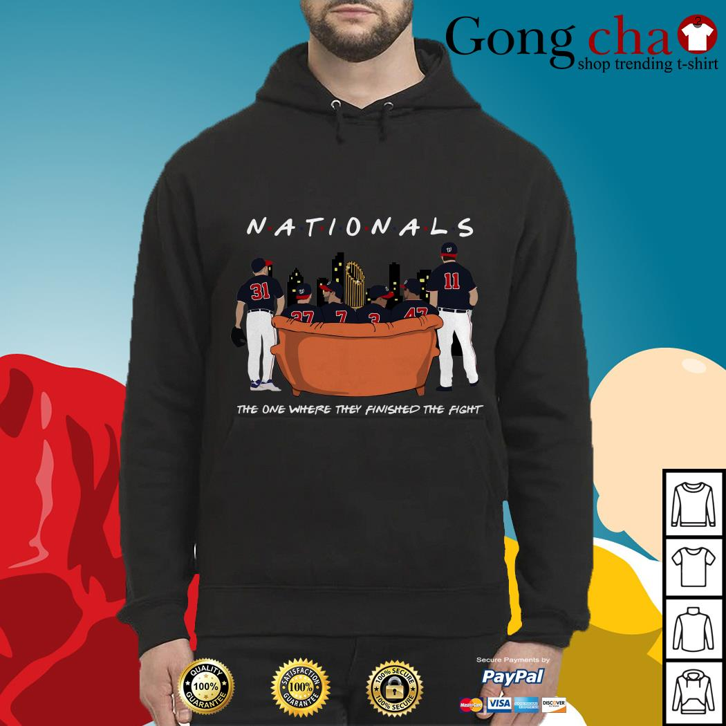 Nationals the one where they finished the fight Hoodie